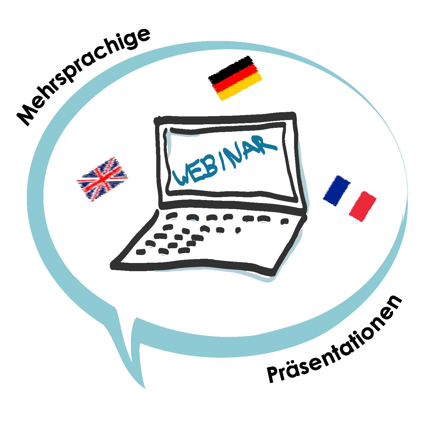 Sketch Icon Mehrsprachige PräsentationenFlags DE
